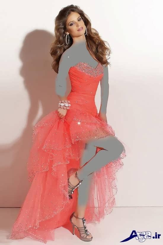 لباس مجلسی بلند مدرن دخترانه