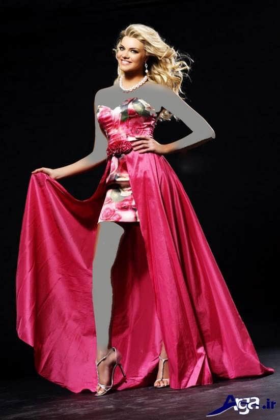 لباس مجلسی بلند جدید و شیک دخترانه
