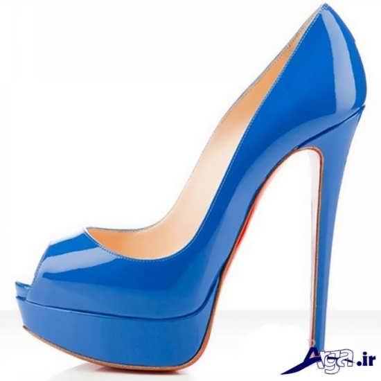 مدل کفش مجلسی زنانه آبی