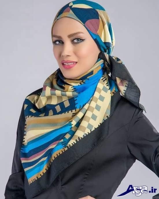 روش بستن روسری های زیبا