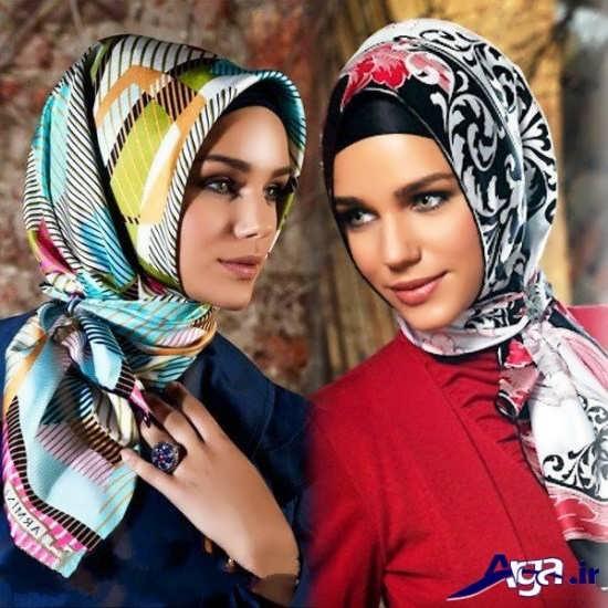 سبک مدرن بستن روسری