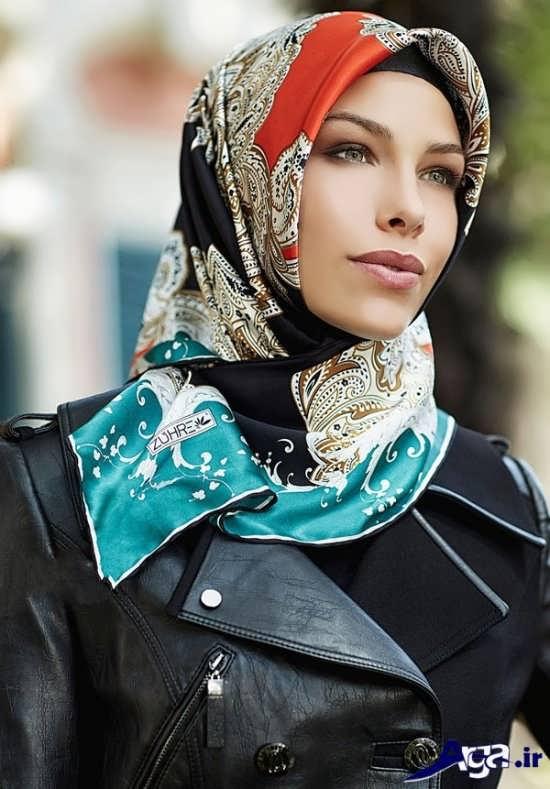 سبک بستن روسری به روش های جدید