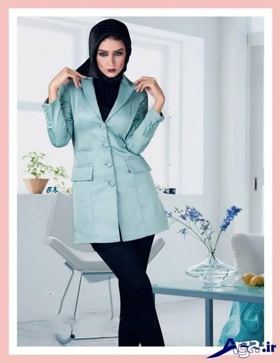 مدل مانتو کتی مجلسی در رنگ های زیبا