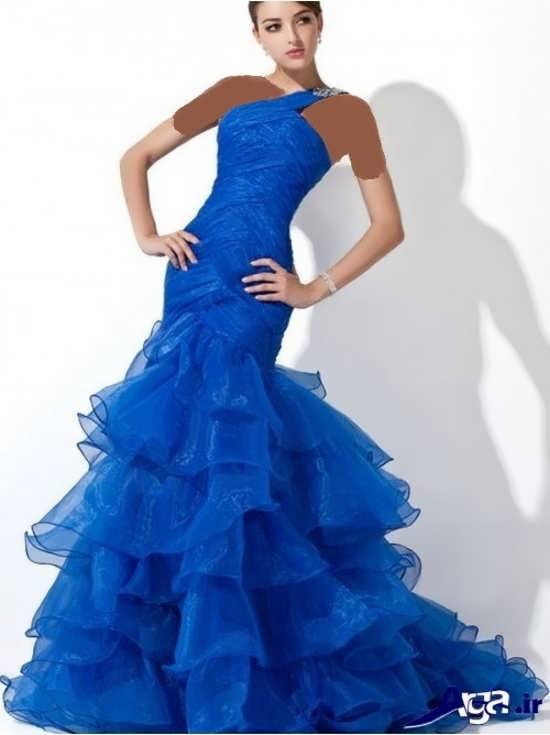 لباس پرنسسی آبی