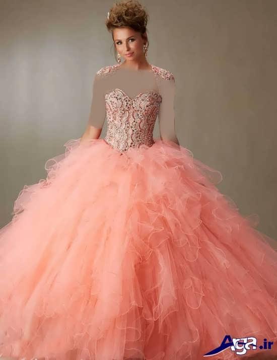 لباس پرنسسی دخترانه بسیار زیبا