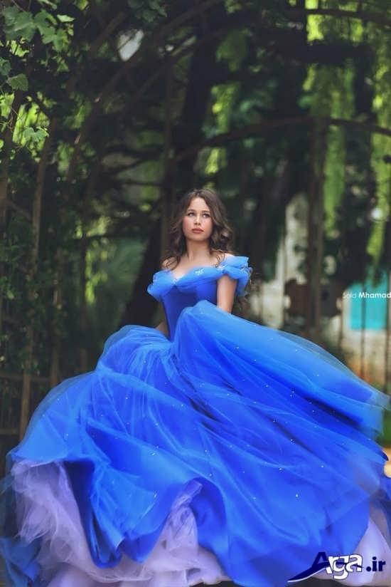 مدل لباس پرنسسی فوق العاده زیبا