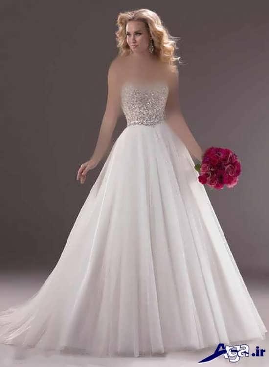 مدل لباس پرنسسی سفید