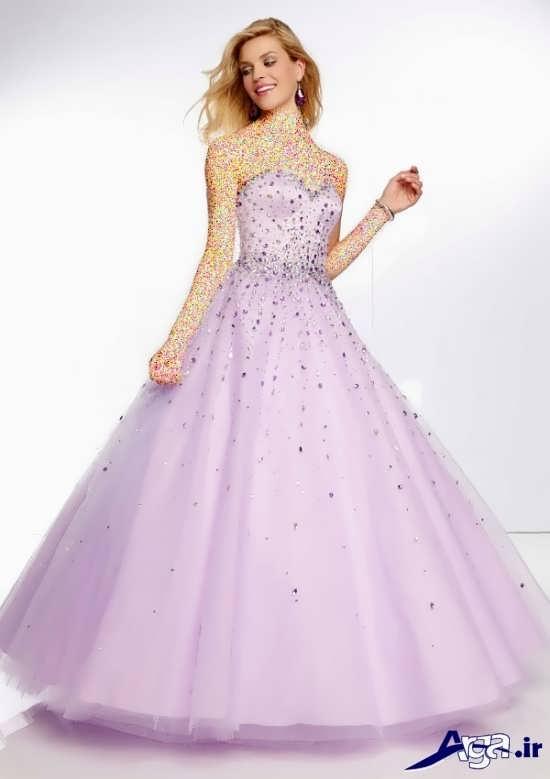 لباس پرنسسی حریر