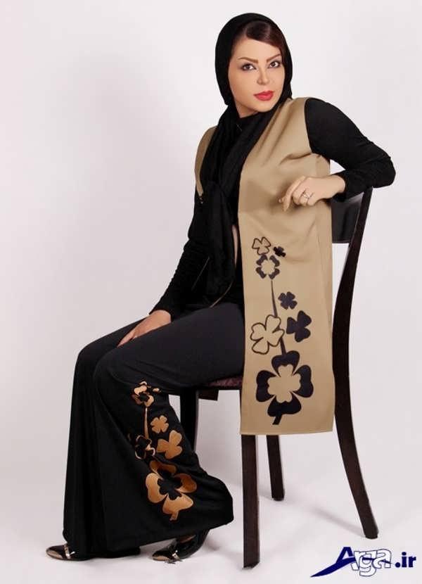مدل سارافون جلو باز سنتی زیبا