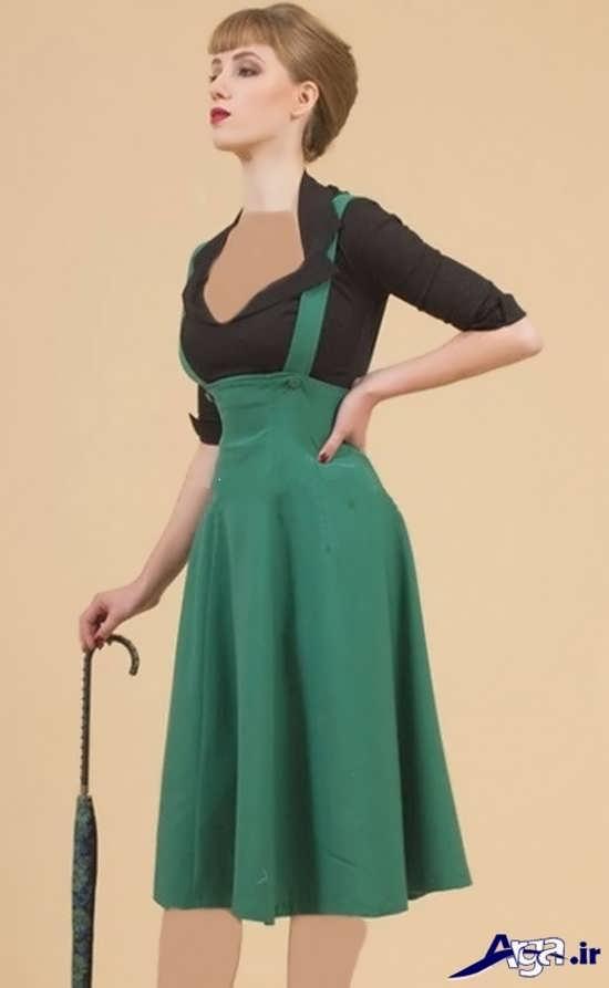 مدل سارافون زنانه سبز
