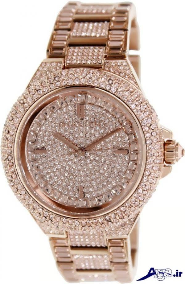 ساعت مچی دخترانه با جواهرات