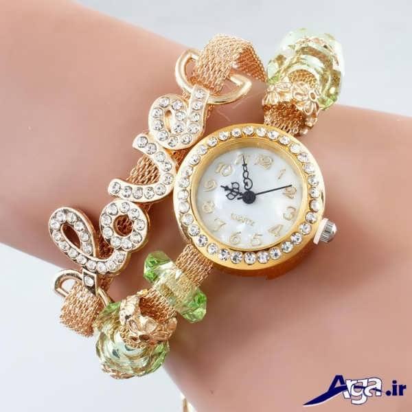 ساعت مچی دخترانه زیبا فانتزی