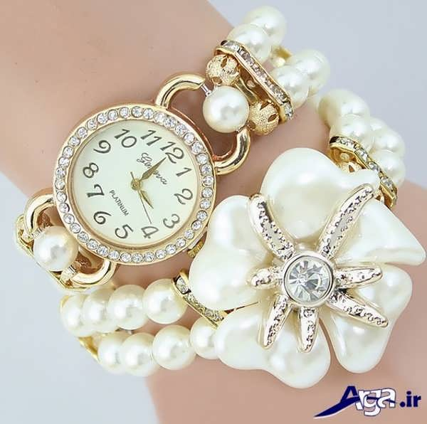 ساعت مچی دخترانه همراه با دستبند