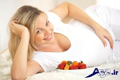 اهمیت تغذیه در دوران بارداری و به ویژه ماه نهم آن