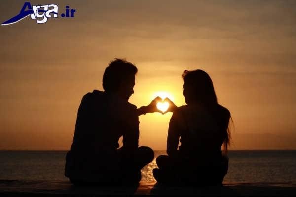 عکس های عاشقانه جدید قلب