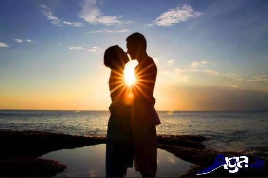 عکس های بوسه عاشقانه و رمانتیک