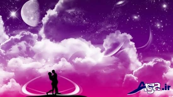 عکس های بوسه رمانتیک