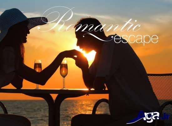 عکس های بوسه عاشقانه رمانتیک