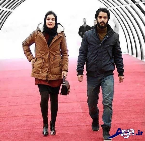 مجموعه عکس های ساعد سهیلی و همسرش