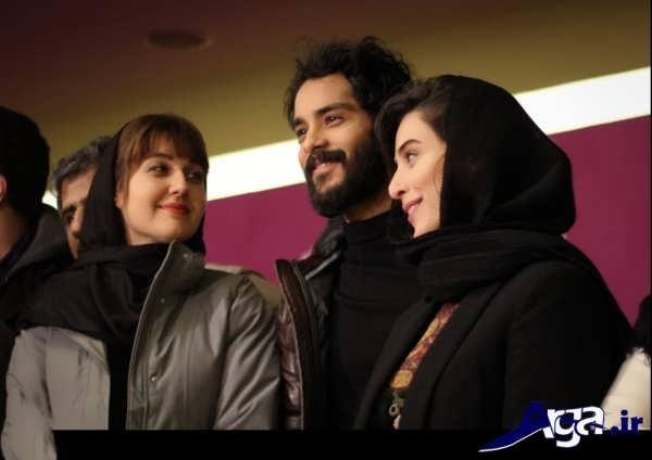 عکس های ساعد سهیلی و همسرش در جشنواره