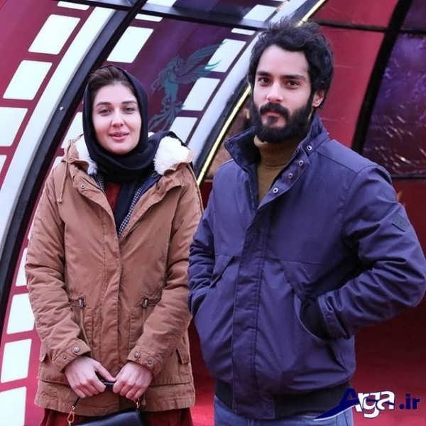 عکس های ساعد سهیلی و همسرش در تهران