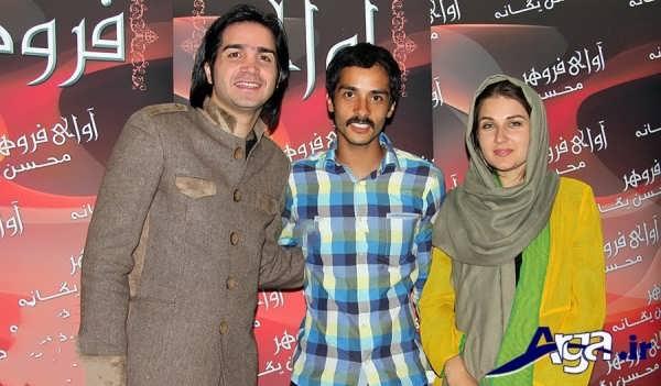 عکس های ساعد سهیلی و همسرش در کنار یگانه