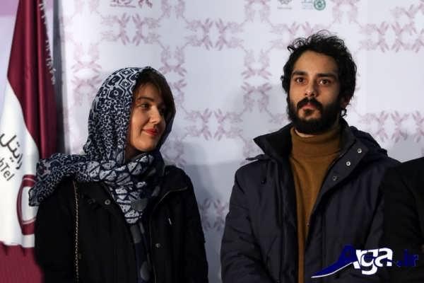 حضور گلوریا هادی و همسرش در جشنواره