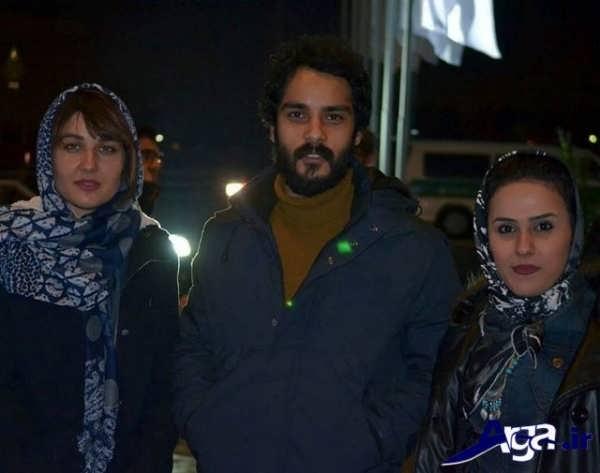 عکس های ساعد سهیلی و همسرش آزاده