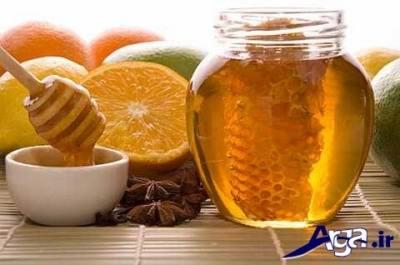 تسکین سوزش گلو با مصرف عسل