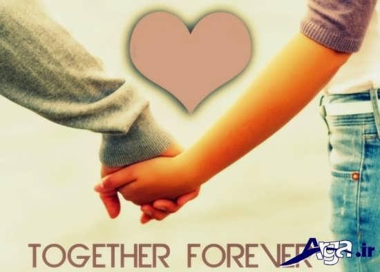 عکس نوشته عاشقانه برای پروفایل
