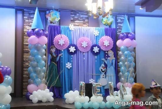 تزیینات جشن تولد فروزن
