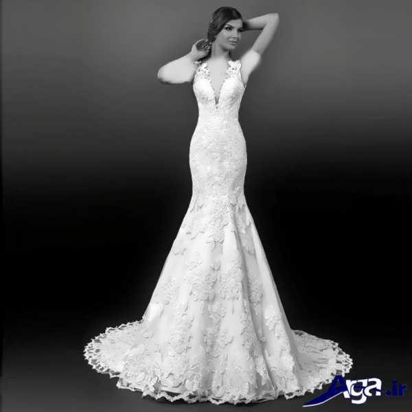 لباس عروس گیپور شیک و زیبا