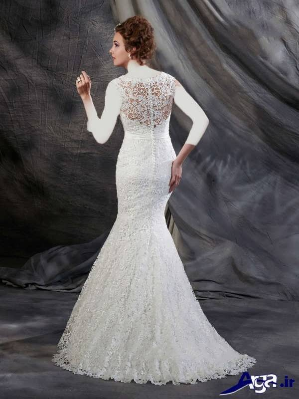 لباس عروس دامن ماهی