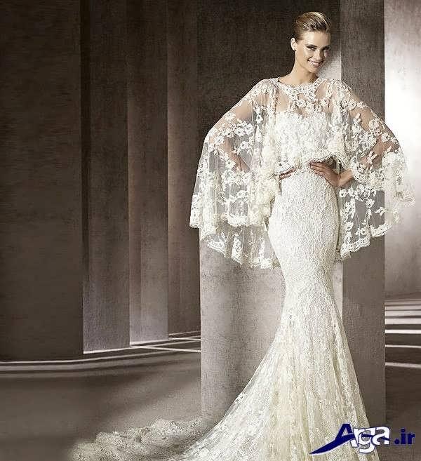 مدل لباس عروس گیپور مدرن