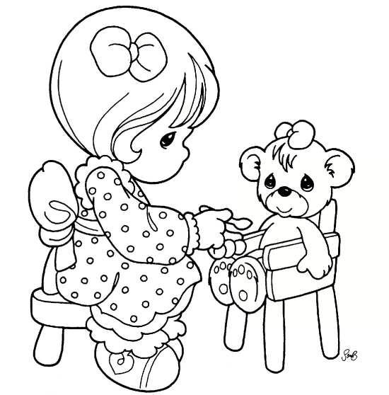 نقاشی دختر فانتزی برای کودکان