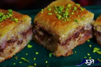 دستور پخت کیک باقوا