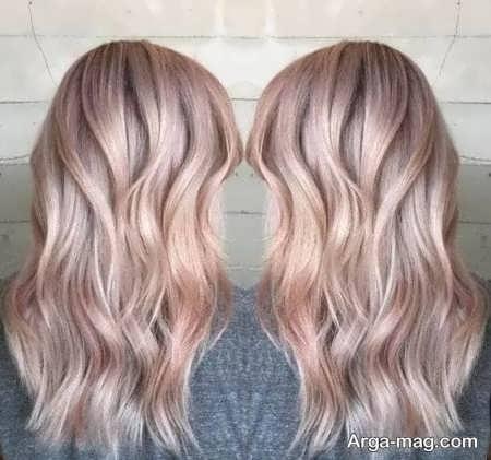 رنگ مو بژ جذاب و دیدنی