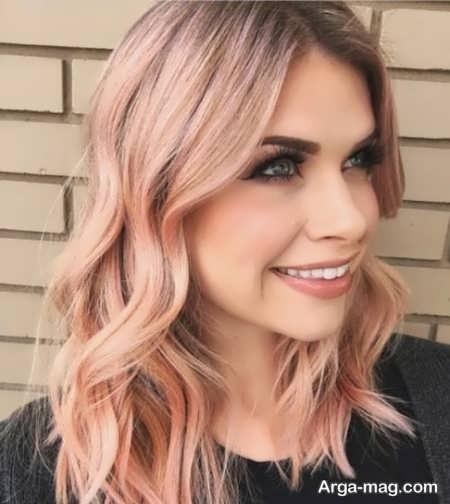 ترکیب دوست داشتنی رنگ مو بژ