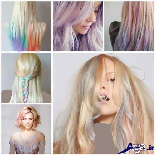 انواع فرمول های ترکیبی رنگ موی روشن و بلوند
