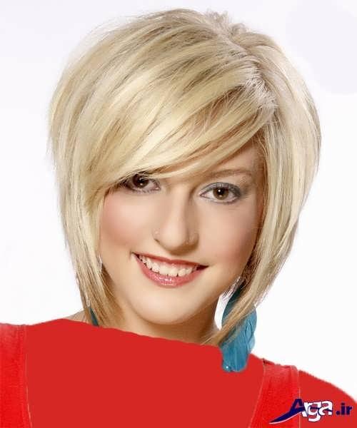 رنگ موی زیبا و جذاب بلوند