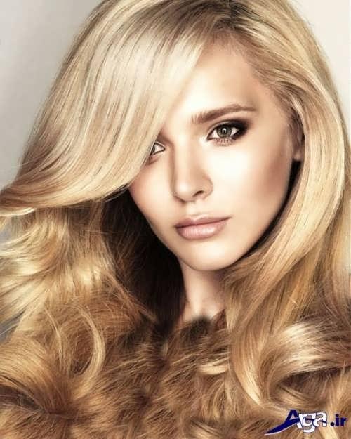 رنگ موی جذاب بلوند