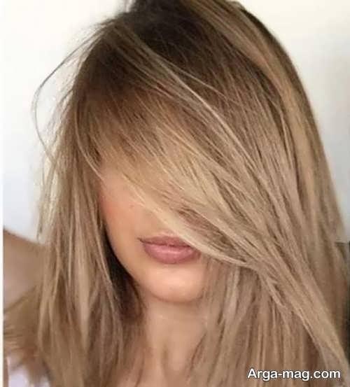 رنگ مو قهوه ای برای خانوم ها