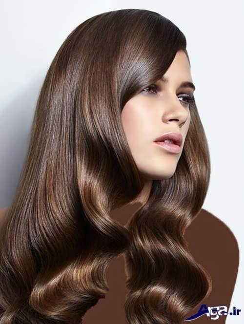 فرمول رنگ موی قهوه ای شکلاتی
