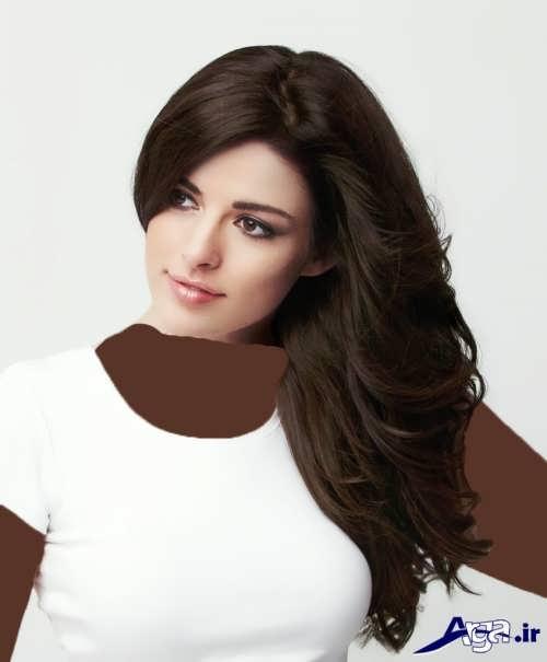 رنگ موی قهوه ای تیره
