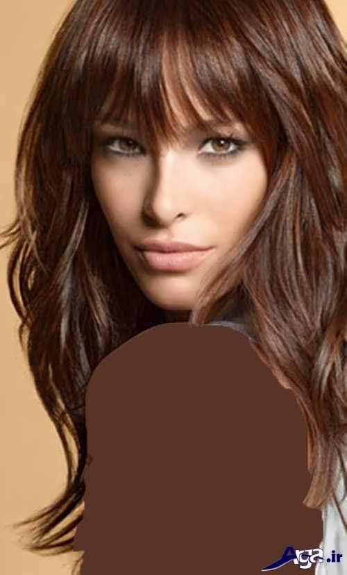 رنگ موی ترکیبی قهوه ای
