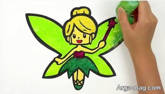 طراحی پروانه فانتزی