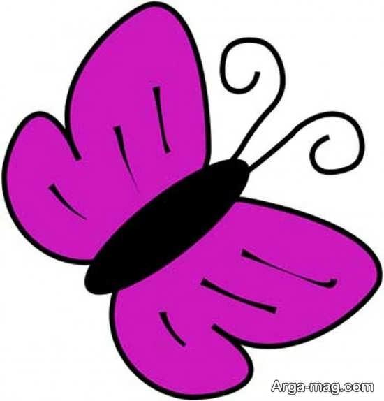 طراحی پروانه ساده