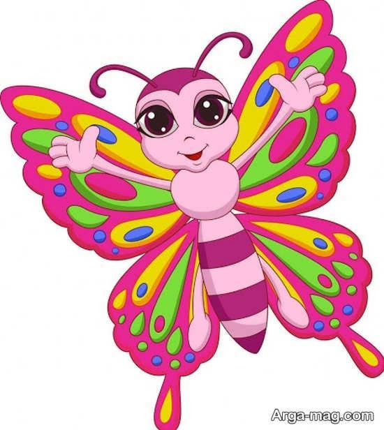 طراحی فانتزی پروانه
