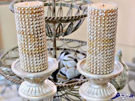 تزیینات شمع در جاشمعی