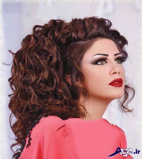 مدل های شینیون برای موی فر